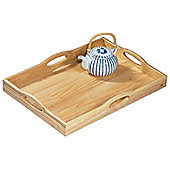 T&G Woodware Ltd Large Tray with 4 Handles