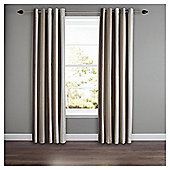 "Whitworth Lined Eyelet Curtains W117xL137cm (46x54"") - - Natural"
