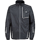 Trespass Mens Axle Bike Jacket - Black