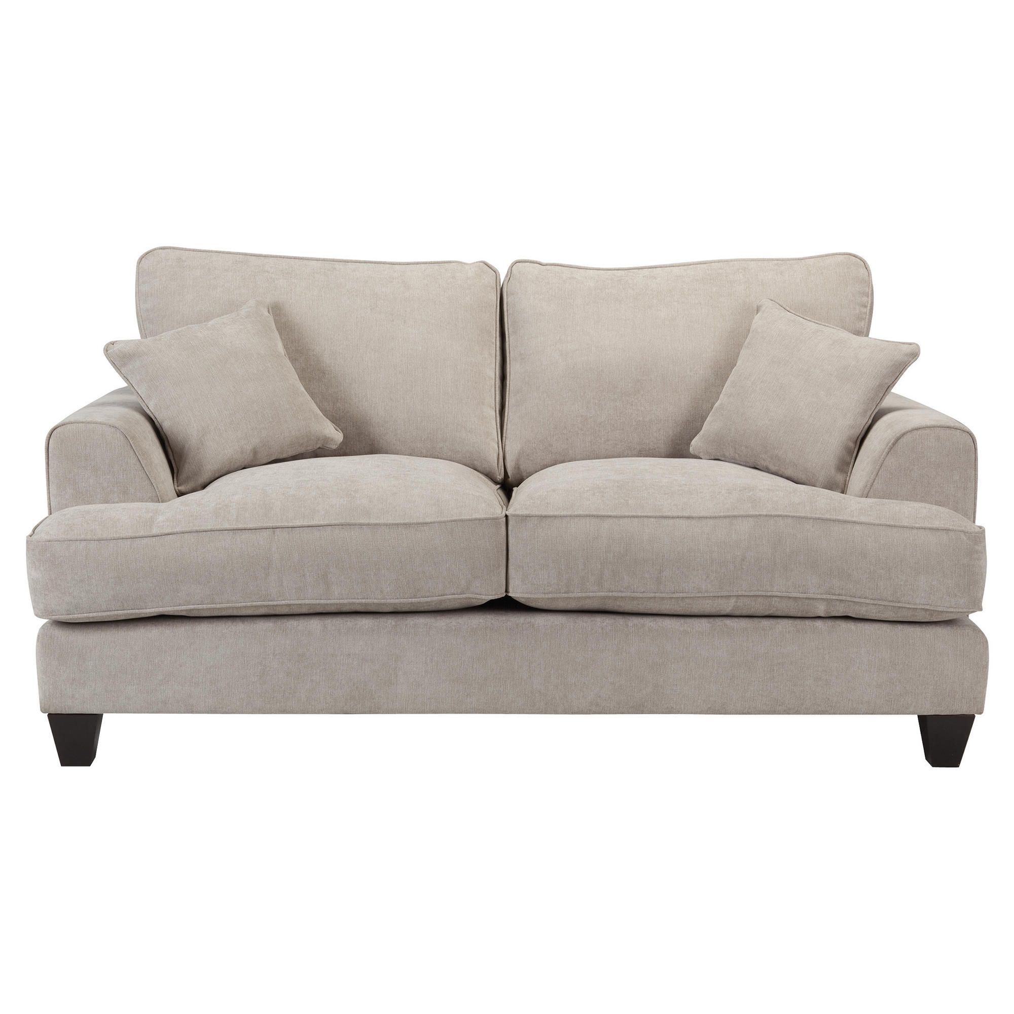 Kensington Fabric Small Sofa Light Grey at Tesco Direct