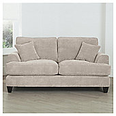 Kensington Fabric Small Sofa Light Grey