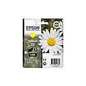 Epson Daisy 18 Series (T1804) Yellow Ink Cartridge RF/AM (Yield 180 Pages) for XP-30 / XP-102 / XP-202 / XP-205 / XP-302 / XP-305 / XP-402 / XP-405