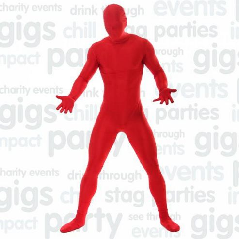 Morphsuit Red - Medium