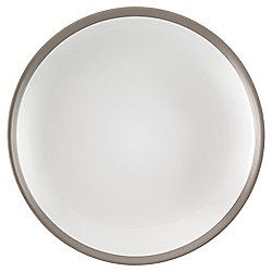 Tesco Two Tone Side Plate, Taupe