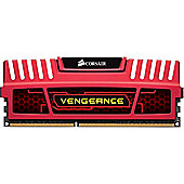Corsair CMZ16GX3M4X2133C11R 16 GB 1866 MHz Vengeance DDR3 Quad Kit Memory Red