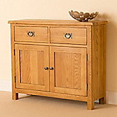 Lanner Small Sideboard - Rustic Oak
