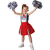 Patriotic Cheerleader - Medium