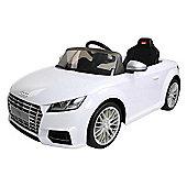 Rastar 12V Audi TT Ride On Car White