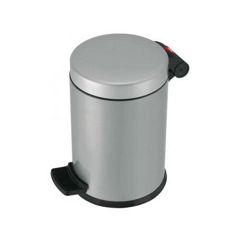 Hailo 27cm Trento 4 Pedal Cosmetics Bin in Silver