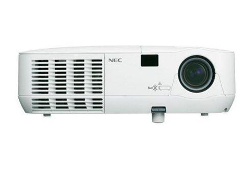 NEC V260 3D Ready DLP Projector, 1080i, 4:3, 2.6, NTSC, PAL, SECAM, HDTV, 800 x 600, SVGA, 2000:1, 2600 lm, VGA, 233 W, 3 Year Warranty