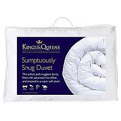 Kings & Queens Sumptuously Snug 4.5 Tog Duvet, Single