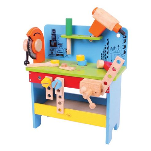 Bigjigs Toys Powertools Workbench