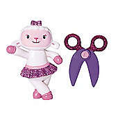 Doc McStuffins and Friends - Lambie Mini Figure and Scissors