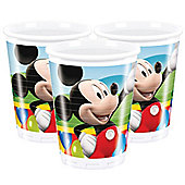 Mickey Mouse Cups - 180ml Plastic Party Cups, Pack of 10