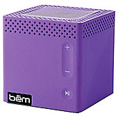Bem Bluetooth Portable Speaker Purple