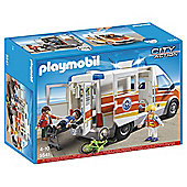 Playmobil 5541 City Action Ambulance with Siren