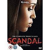 Scandal Season 3 (DVD Boxset)