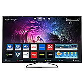 Philips 40PUS6809 40 Inch 3D Smart WiFi Built In Ultra HD 4K LED TV with Freeview HD