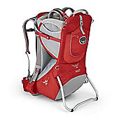 Osprey Poco Baby Carrier Romper Red