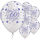 11' 60th Anniversary Little Hearts (25pk)