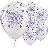 11' 60th Anniversary Little Hearts (25pk)