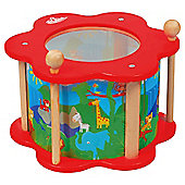 Carousel Wooden Drum