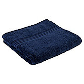 Tesco Hygro 100% Cotton Hand Towel, Navy