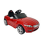 Kids Electric Car BMW Z4 6 Volt Red Gloss