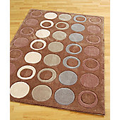Origin Red Metro Chocolate Rug - 230cm x 160cm