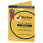 Norton Security Deluxe 1 User 5 Device + Utilities
