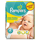 Pampers New Baby Size 2 Monthly Pack - 240 Nappies