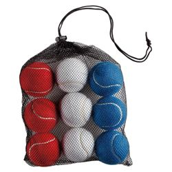 Activequipment GB 12 Tennis Balls In Mesh Bag