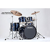 Tama Imperialstar Midnight Blue 22 Bass Drum 10, 12, Toms 14 Floor Tom Inc Hardware
