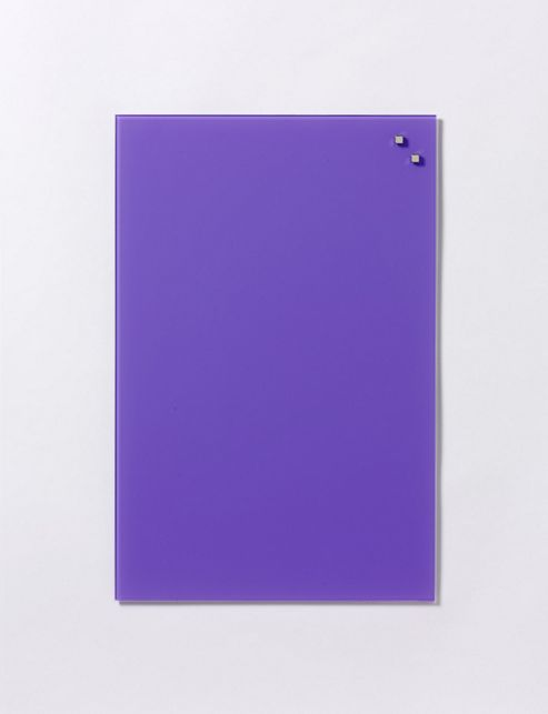 buy naga magnetic glass memo board 40 cm x 60 cm strong purple from our whiteboards. Black Bedroom Furniture Sets. Home Design Ideas