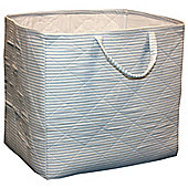 Candystripe Toy Storage Basket - Blue