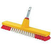 WOLF-Garten BS40M 37cm Decking / Scrubbing Brush - Multi-change Handle sold separately