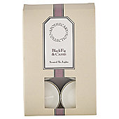 Tesco Apothecary Black Fig and Cassis Tea Lights, Pack of 12