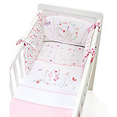 B Baby Bedding My Little Garden Crib Bale Size crib