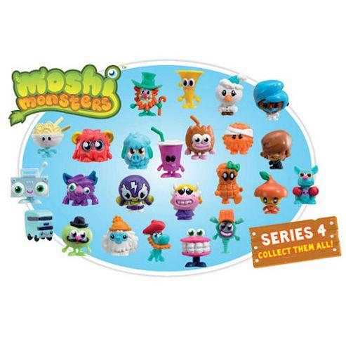 Hasbro Moshi Monsters Series 4 Blister Pack