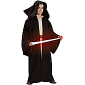 Child Deluxe Hooded Sith Robe Small