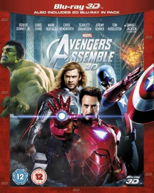 Marvel Avengers Assemble (3D Blu-Ray)