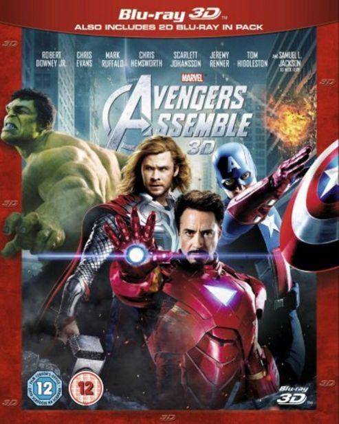 Marvel Avengers Assemble (3D Blu-Ray)