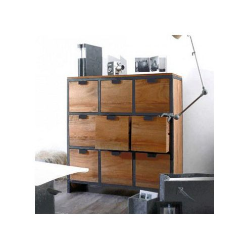 Tikamoon Urban Palisander 9 Drawer Chest