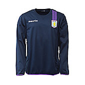 2013-14 Aston Villa Sweat Top (Navy) - Navy