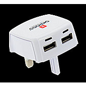 SKROSS UK USB Charger