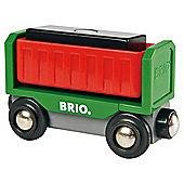 Brio Tip & Load Wagon, wooden toy