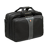 Wenger SwissGear Legacy 17 inch Double Gusset Top Loading Laptop Case_