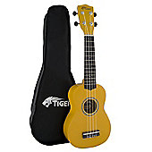 Yellow Beginner Soprano Ukulele & Bag
