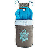Jane Luxury Nest Plus Footmuff (Aqua)