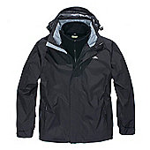 Trespass Mens Maker 3in1 Jacket - Black